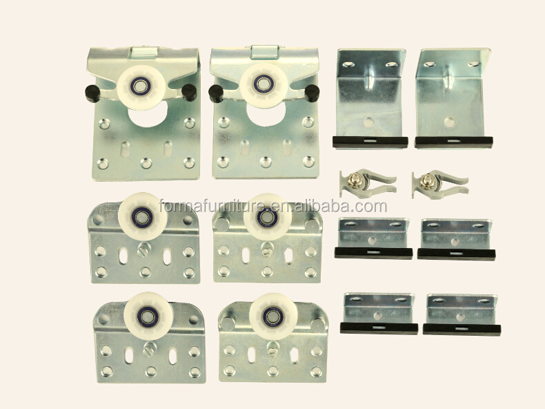 Furniture Hardware For Wardrobe Sliding Door Sd1002 Buy Door Hardware Sliding Door Metal Parts