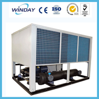 High Quality Air Cooled Screw 100TR Water Chiller