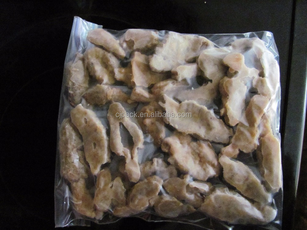 vacuum sealing system tuna reels pa pe plastik packing clear poly bags for frozen food