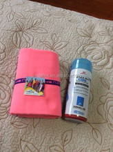 microfiber suede quick dry towels with elastic band in bag