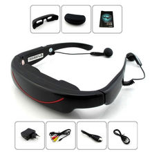 72 inch Private Cinema Theater Digital Video Eyewear Glasses 4G witht TF Plug AV-In Function