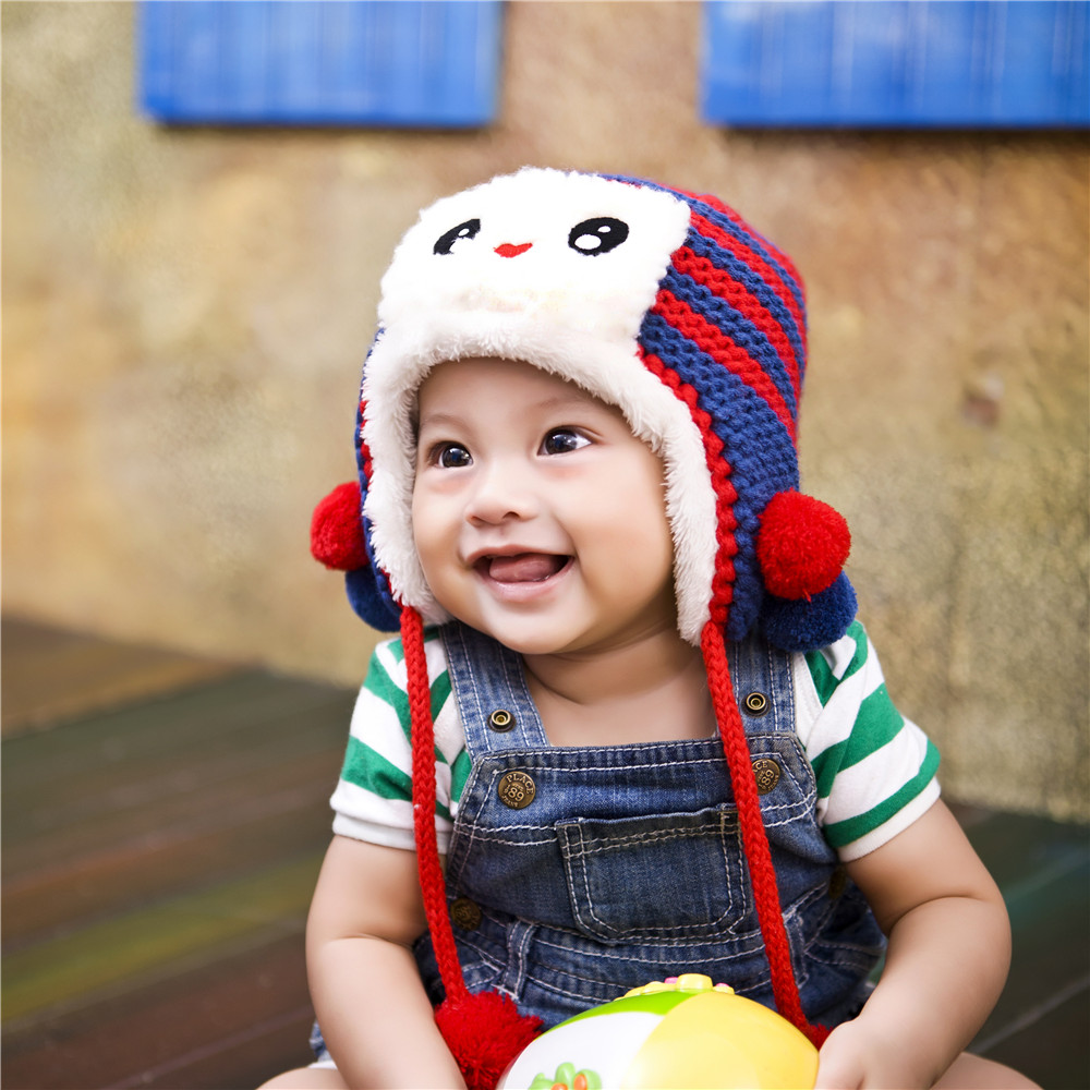 hot sale & high quality cute knitted hats with good price