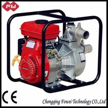 Electric start long distance 170F engine petrol air cooler water pump