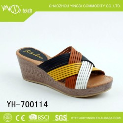 summer shoes Wholesale Fashion and Elegant Ladies Slipper high heel