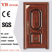 Warranty 5 years 1 hours fire rated exterior security double frameless glass doors