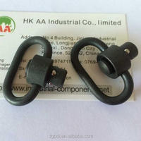 oem black metal qd swivel, sling swivel and other quick release ball lock pin