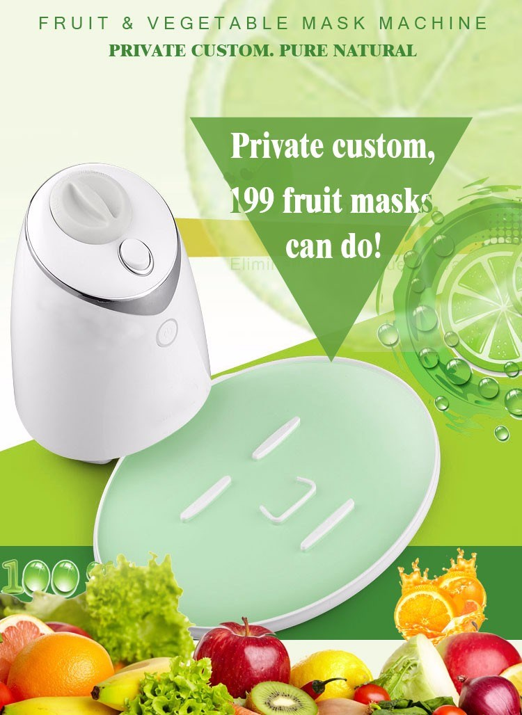 2016 household New Fruit & Vegetable fruit facial mask machine