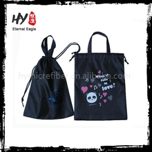 Breathable custom shoe bags, eco bags non woven, fabric nonwoven tote bag
