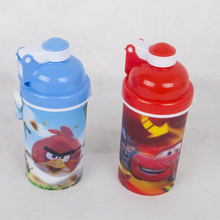 500ml PP 3D picture water bottle