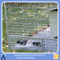Pet Cage/ Galvanized Dog Kennels/ Portable Fences crates