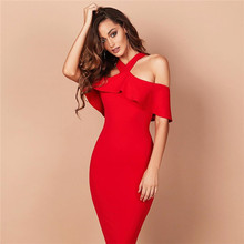 2017 Bandage Bodycon Rayon vestidos prom dresses women lady formal dresses