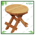 Eco-friendly round reclining bamboo children chairs