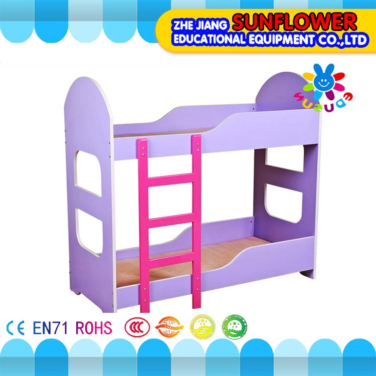 유치원 가구 나무 아이 침대, 아이 보육 침대, 아이 층 푸시 및 풀 침대 슬라이딩 침대