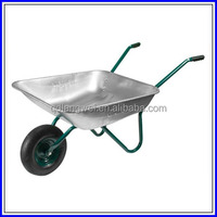 High - strength stainless steel cheap wheelbarrow
