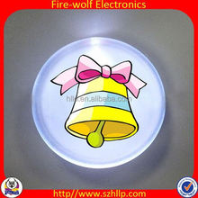 Flashing Led Promotion Gifts Silicone Coin Purse Wholesale