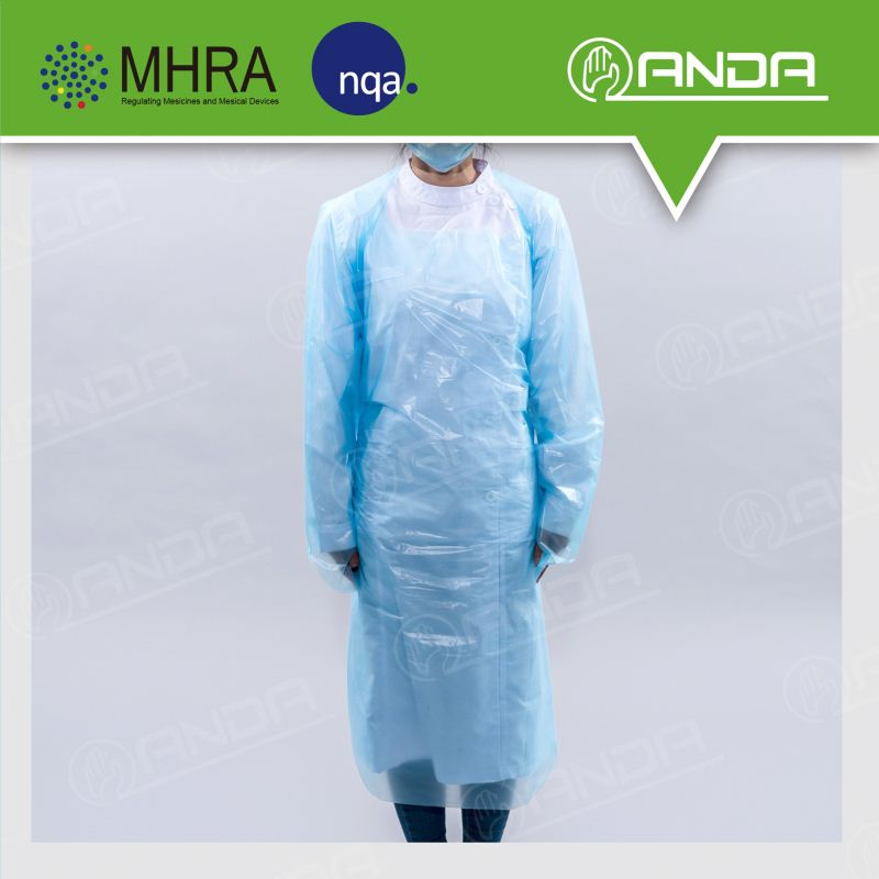 ADG001 Cheap price plastic cheap patient gowns for surgery