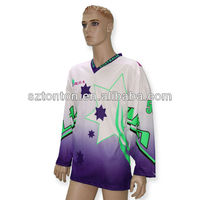 2013 sublimated inline hockey