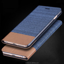 Smart Mobile Custom Canvas Phone Card Holder Wallet Flip Cover Case for SAMSUNG Galaxy NOTE3 NEO/N7505
