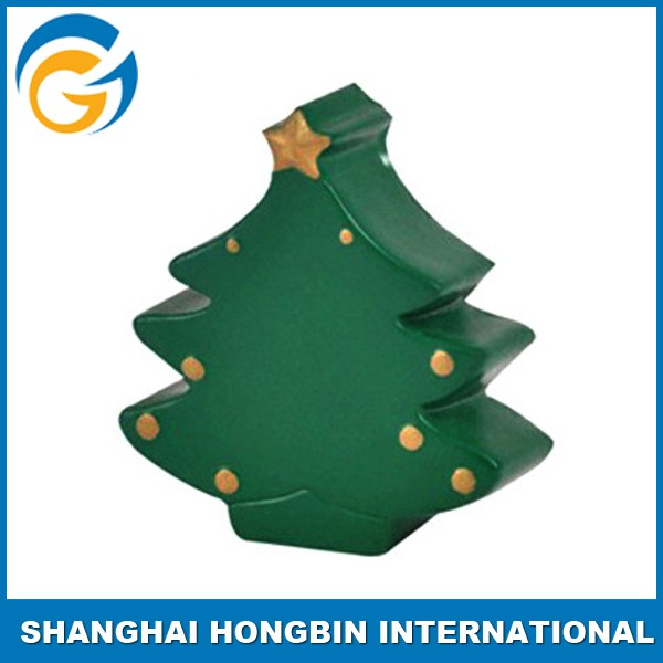 Christmas Tree Style Pu Foam Toy for Promotion