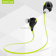 QCY QY7 High end wireless sport bluetooth headset headphone unique earphone earbud for hand free call to all bluetooth device