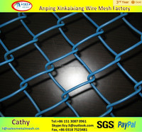 Best price!!! Stainless steel hook flower nets/Chain link fence