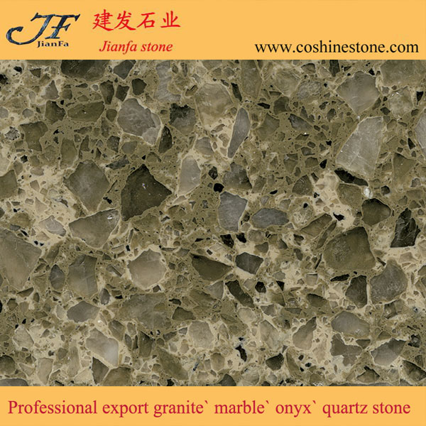 Dark color quartz countertop slabs compact stone prices of quartz per meter