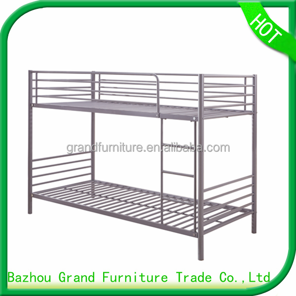 High quality european bed frame metal bunk bed for dormitory bed