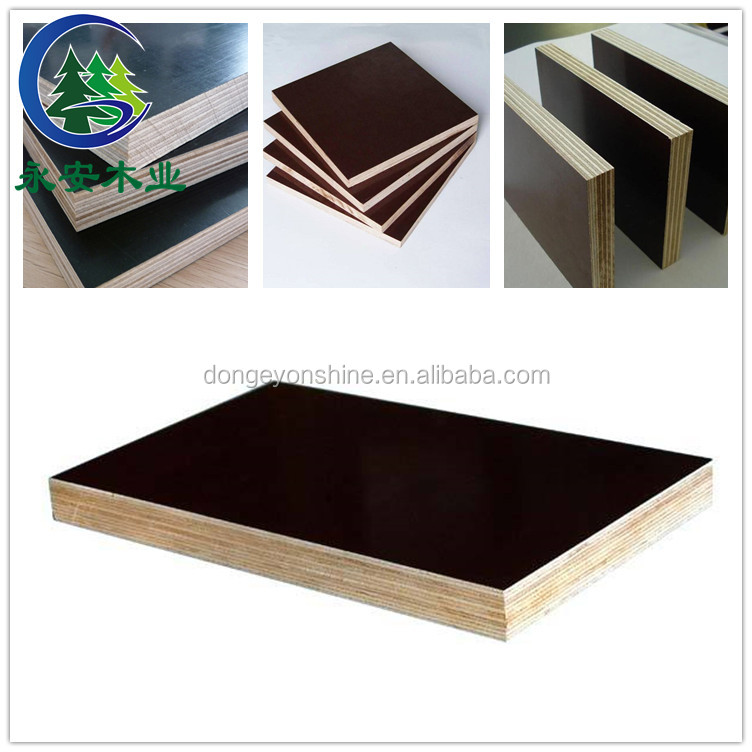 Advanced construction material and brown film faced plywood from shandong