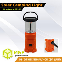 Rechargeable Hanging Solar Lantern With Mobile Phone Charger