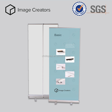 Cutomized grund roll up banner stand display