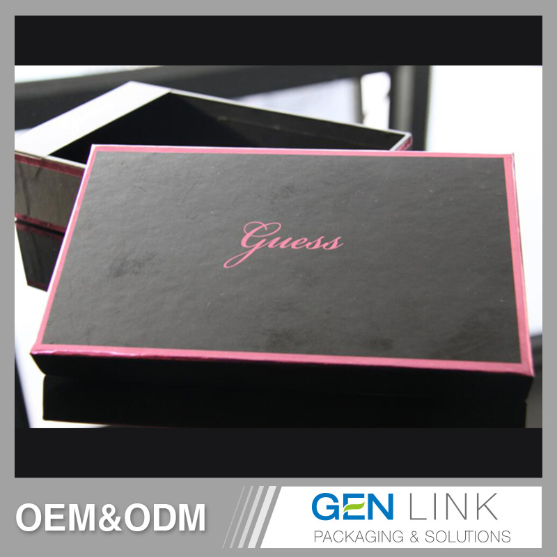 OEM custom Professional Stamping Luxury gift box