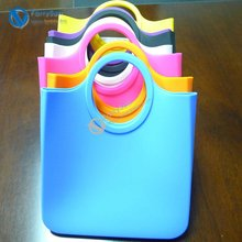 2012 fashion style silicone colorful cute handbag