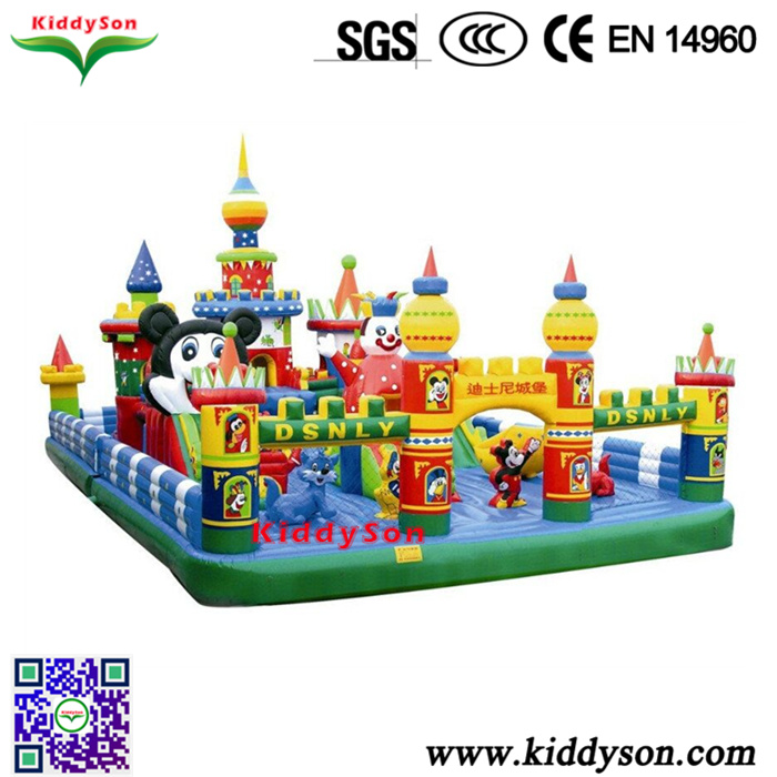 Newest design minnie and mickey mouse inflatable bouncer,funny inflatable mickey and minnie