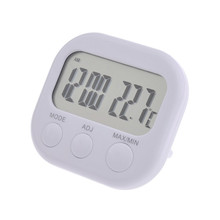 indoor large display thermometer with clock