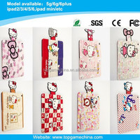 Hello kitty Pattern belt clip case for ipad mini smart case