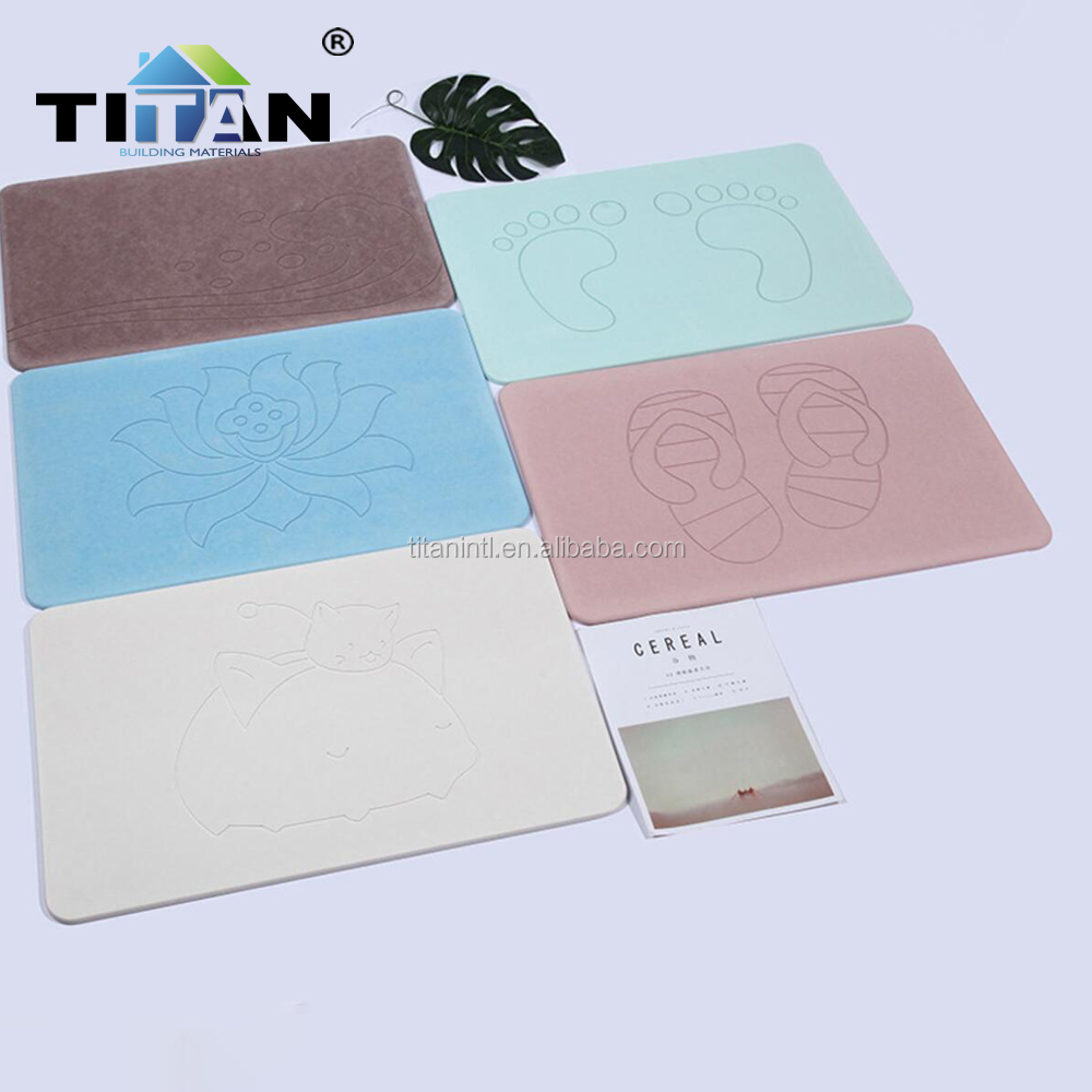 Diatomaceous Anti Slip Bathroom Mat