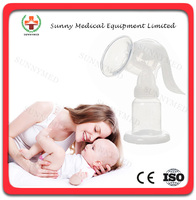 SY-F001 manual cheap breast suction pump breast milk pump price