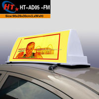 Taxi car advert led lights for sign board