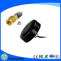 manufacture Puck Car Antenna Screw Roof and in Sticking Type gps gsm combo antenna