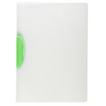 A4 Size PP Transparent Plastic Swing Clip File Folder