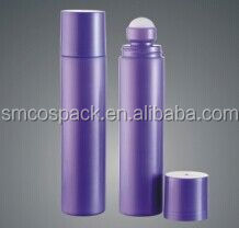own brand new product cosmetic packaging empty plastic bottle perfume roll on bottles from China