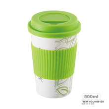 Eco-friendly Travelling Cup European Design Bamboo Mugs