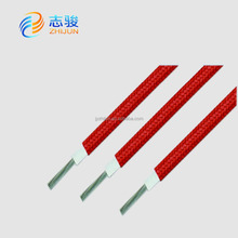 supply fiberglass braid copper wire rubber covered electrical wire