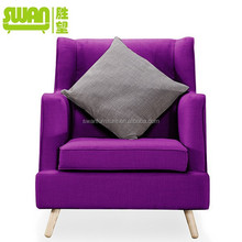 5033-1 popular modern Hotel sofa low back living room sofa