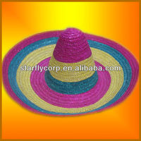 2014 summer farmers drinking straw hat hot selling (ST-H1666)