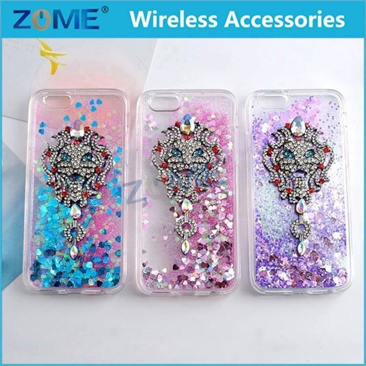 Quicksand Case Cover Glitter Stars Tpu Back For Iphone 6 6S