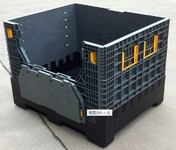 Best price plastic crate with cover manufacturer container custom made perforated spare parts box