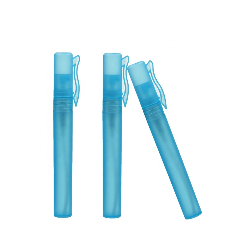 Biodegradable Plastic <strong>PP</strong> 15ml Pen Shape Type Perfume Atomizer Spray Travel Bottle