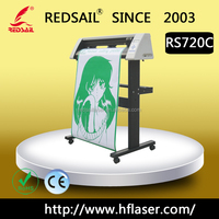 24'' New redsail sign vinyl cutting plotter RS720 with high quality and favorable price for cutting