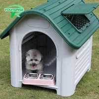 pet kennel factory direct cage outdoor plastic dog house manufacturer